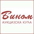 Aukcijska kuća Binom je započela sa radom 24. oktobra 2004. godine u Beogradu sa ciljem da ljubiteljima umetnosti u Srbiji pruži doživljaj prave, uzbudljive profesionalno organizovane aukcije najrazličitijih umetničkih dela po pristupačnim početnim cenama