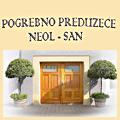 Pogrebno Preduzeće Neol-san d.o.o. osnovano je 1992. godine u Beogradu.U našim poslovnim prostorijama profesionalni tim će vas ljubazno dočekati, pažljivo saslušati i pomoći u organizaciji