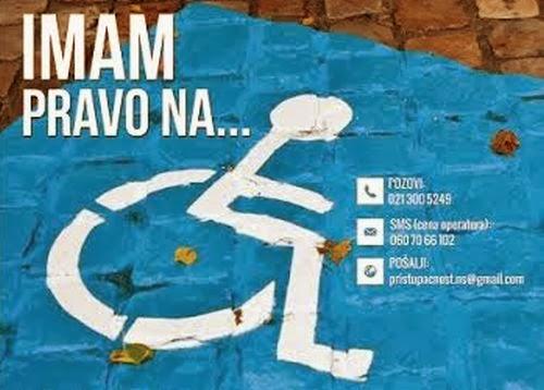 Podnošenje zahteva za parking mesto za osobe sa invaliditetom - Zaprašivanje komaraca naredne sedmice