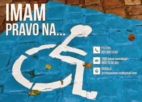 Podnošenje zahteva za parking mesto za osobe sa invaliditetom - Drugo izdanje festivala Priča