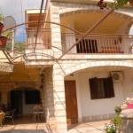 Apartmani Mila nalaze se u ulici Luke Vukalovića br. 101 u Igalu na obali rečice Sutorina