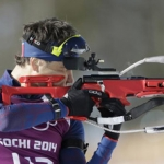 Bjerndalenu rekordna 12. medalja - Norvežanin Ole Ejnar Bjerndalen pobedio je u sprintu na deset kilometara