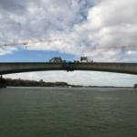 Zemun -  Borča - most Zemun Borca spojen danas