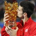 Najbolji u Abu Dabiju - Trofej u Abu Dabiju za Novaka Djokovica