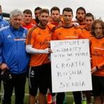 Podrška Srbiji, Hrvatskoj i Bosni -