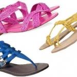 Ravne sandale u modi - Ravne sandale u modi