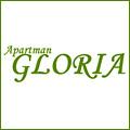 Apartman Gloria se nalazi u Beogradu, Bežanijska kosa, u mirnoj stambenoj zgradi na 4.spratu, ima 52 m2. Blizu apartmana je autobusko stajalište, autobusa 75,74, 72, do aerodroma se stiže za 15 minuta, kao i do autoputa Šid - Beograd- Niš; Beograd-Novi Sad