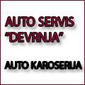Auto servis Devrnja se bavi autolimarskim i lakirerskim uslugama (auto reparaturna popravka svih karoserijskih delova). Odrzavanje i popravka motornih vozila Auto karoserija. Vršimo popravke svih modela automobila uz posedovanje odgovarajućeg alata za kvalitetno obavljanje posla.