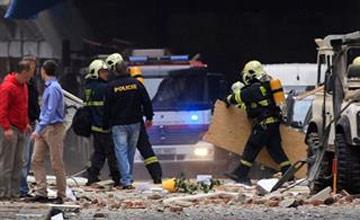 Eksplozija u centru Praga - Eksplozija u centru Praga