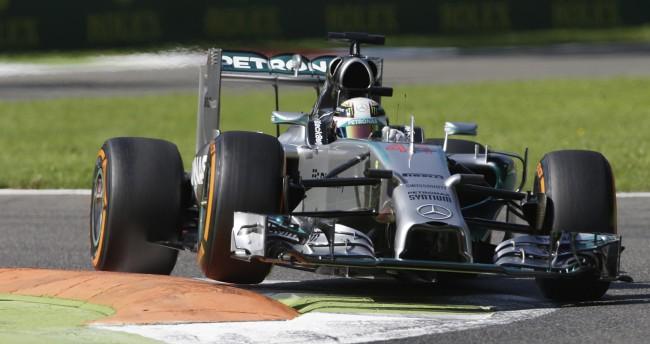 Hamilton na pol poziciji za VN Italije -