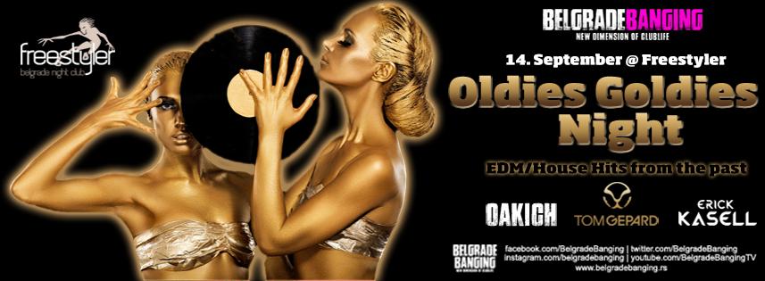 Oldies Goldies Night  Nedelja 14. septembar 2014 -