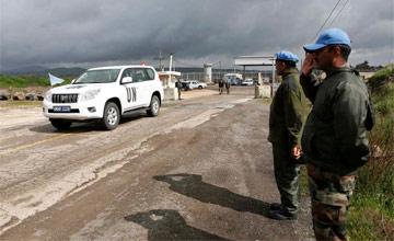 Oteta četiri mirovnjaka UN - Oteta četiri mirovnjaka UN