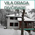 Apartmani i privatni smeštaj Divcibare. VILA DRAGA  nalazi se na jednom od najlepših mesta u centru Divčibara. Vila je nova, moderna i pravo je mesto za odmor i uživanje. Sadrži četiri apartmana, jedan dvokrevetni, dva četvorokrevetna i i jedan dvosobni četvorokrevetni.